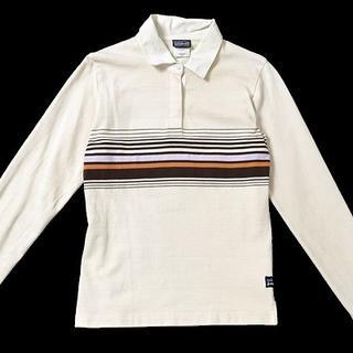 パタゴニア(patagonia)の◇patagonia◇sizeS rugby shirt top(シャツ/ブラウス(長袖/七分))