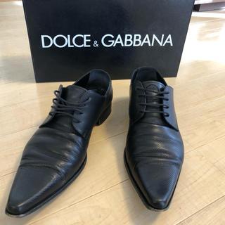 ドルチェアンドガッバーナ(DOLCE&GABBANA)のドルチェ&ガッバーナ革靴!(ドレス/ビジネス)