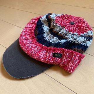 デニムダンガリー(DENIM DUNGAREE)のデニム&ダンガリーニットキャップM(52〜54)(帽子)