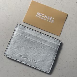 Michael Kors - ☆新品 MICHAEL KORS マイケルコースのパスケース カードケース 白