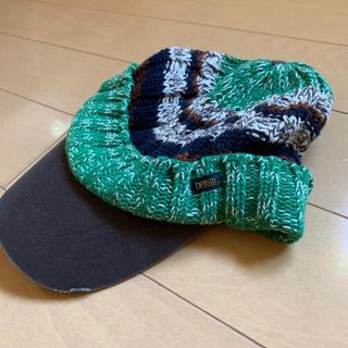 デニムダンガリー(DENIM DUNGAREE)のデニム&ダンガリーニットキャップ帽M(52〜54)(帽子)