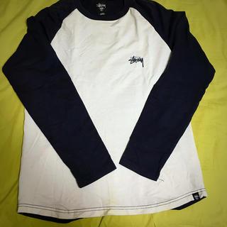 ステューシー(STUSSY)のSTUSSYバックプリント七分T(Tシャツ/カットソー(七分/長袖))