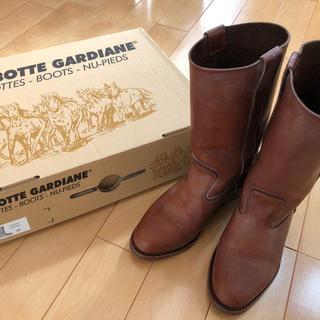 ジャーナルスタンダード(JOURNAL STANDARD)の⭐︎ラボッテガーディアンLA  BOTTE GARDIAN ショートブーツ37(ブーツ)