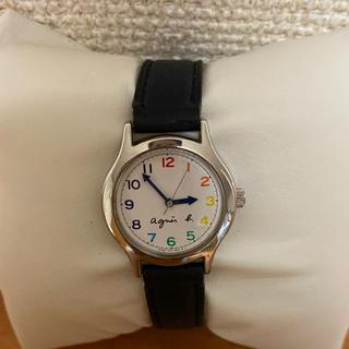 アニエスベー(agnes b.)のagnes.b アニエスベー マルチカラー 時計 電池交換済み(腕時計)