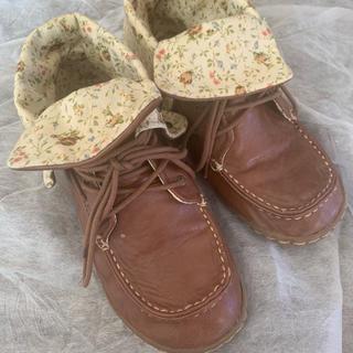 アベイル(Avail)の花柄 ショートブーツ(ブーツ)