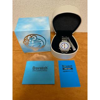 ショウガクカン(小学館)の【新品】2005年5000個限定 Doratch ドラッチ ドラっち(腕時計(アナログ))