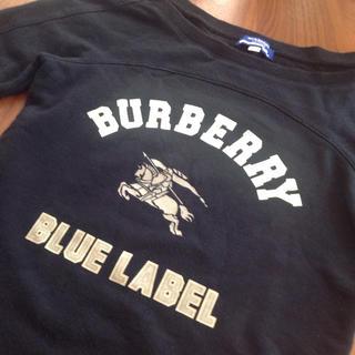 バーバリーブルーレーベル(BURBERRY BLUE LABEL)のBURBERRY  BLUELABEL 七分袖 トレーナー(トレーナー/スウェット)