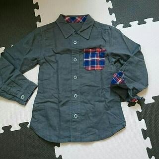 シップス(SHIPS)の110☆SHIPS☆グレーシャツ(Tシャツ/カットソー)