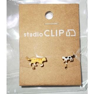 スタディオクリップ(STUDIO CLIP)のスタジオクリップ     オヤコネコ イヤリング(イヤリング)