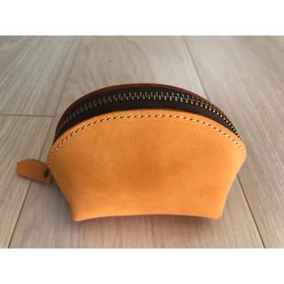 ムジルシリョウヒン(MUJI (無印良品))のスペインのお土産 ハンドメイド 革厚を生かしたボリュームが魅力 コインケース(コインケース/小銭入れ)