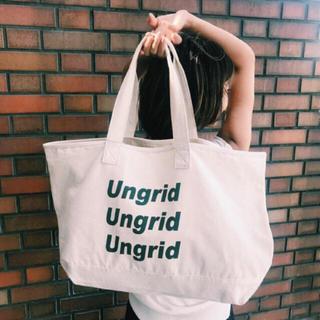 アングリッド(Ungrid)のアングリッド ノベルティ 最終価格(トートバッグ)