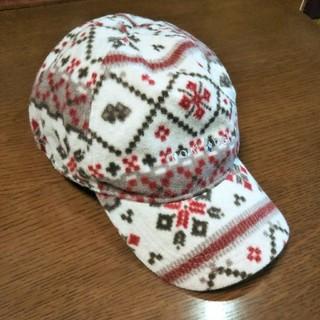 モンベル(mont bell)のmontbell ノルディック柄 帽子(キャップ)