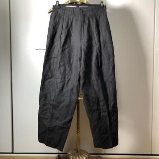 ジャンニヴェルサーチ(Gianni Versace)のVERSACH ジャンニヴェルサーチ 麻 ワイドパンツ 正規品(その他)
