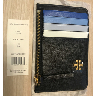 トリーバーチ(Tory Burch)の2019 新品 男女TORY BURCH KIRA SLIM CARD CASE(名刺入れ/定期入れ)
