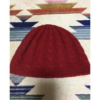 ラルフローレン(Ralph Lauren)の新品未使用 バナナリパブリック ケーブル ニット帽 ビーニー(ニット帽/ビーニー)