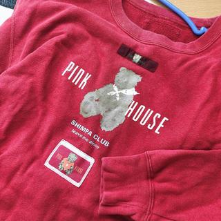 ピンクハウス(PINK HOUSE)のPINK HOUSE スウェット(トレーナー/スウェット)