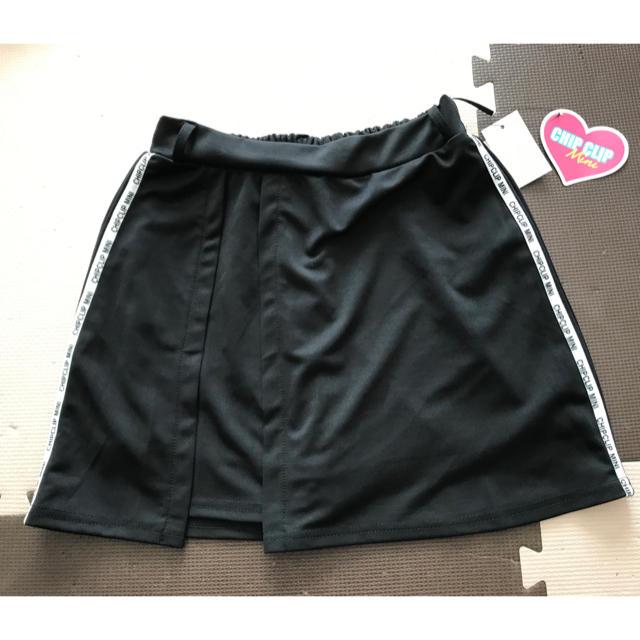 Avail(アベイル)のchip clip  mini サイドライン スカパン M 新品 レディースのスカート(ミニスカート)の商品写真