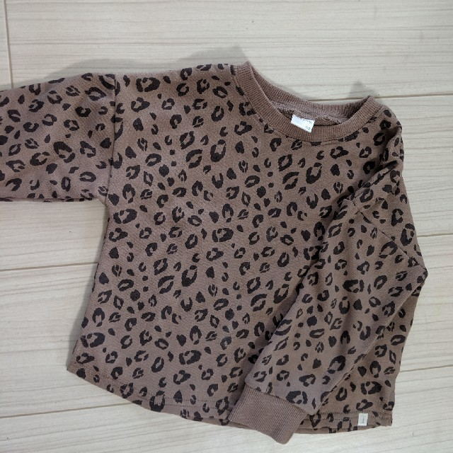 futafuta(フタフタ)のテータテート レオパード パンツ キッズ/ベビー/マタニティのベビー服(~85cm)(パンツ)の商品写真