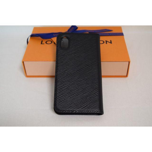 iphone8 ケース クリア ハード 、 LOUIS VUITTON - 新品未使用☆日本完売IPHONE XRフォリオケースブラックの通販