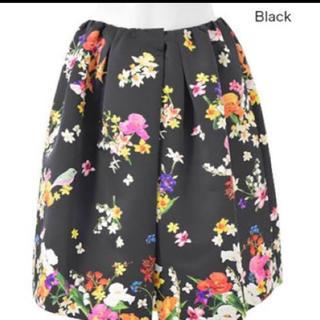 チェスティ(Chesty)のchesty チェスティ 小鳥スカート ブラック 1サイズ(ひざ丈スカート)