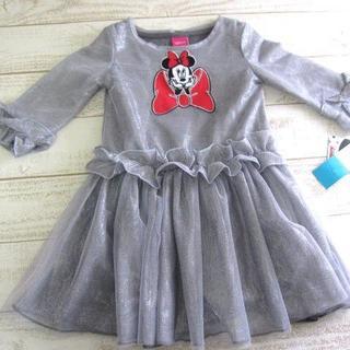 ディズニー(Disney)のディズニー ミニー チュール ドレス【6】グレー/〓ZFB(ネコ)(ワンピース)