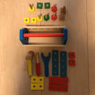 キャラメルベビー&チャイルド(Caramel baby&child )のMelissa and Doug 大工さんセット(知育玩具)