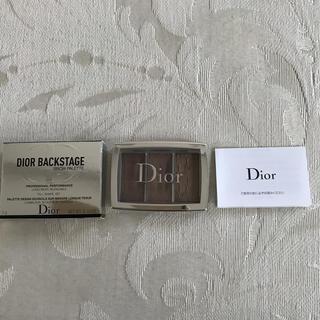 ディオール(Dior)のDior ディオール バックステージ ブロウ パレット  001 ライト(パウダーアイブロウ)