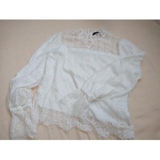 ダブルクローゼット(w closet)のw closet ブラウス(Tシャツ(長袖/七分))