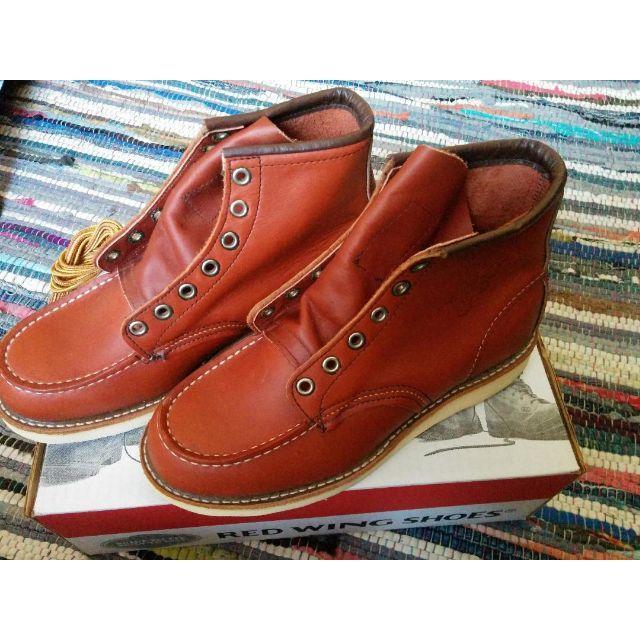 REDWING(レッドウィング)の美品 Red Wing (レッドウイング) 女性用ブーツ US6(23.0cm) レディースの靴/シューズ(ブーツ)の商品写真