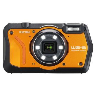 リコー(RICOH)の新品☆RICOH WG-6 オレンジ☆防水コンパクトデジタルカメラ(コンパクトデジタルカメラ)