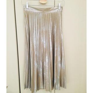 ザラ(ZARA)のZARA プリーツスカート(ひざ丈スカート)