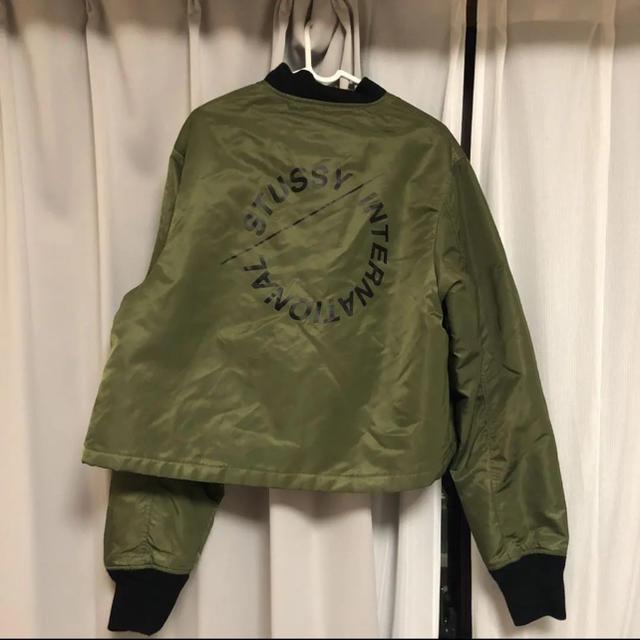 STUSSY(ステューシー)のstussy MA-1 レディースのジャケット/アウター(ブルゾン)の商品写真