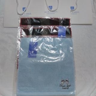 バーバリーブルーレーベル(BURBERRY BLUE LABEL)のブルーレーベルハンドタオル三枚セット 定価4860円(タオル/バス用品)