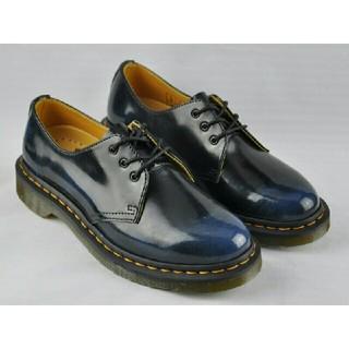 ドクターマーチン(Dr.Martens)のオススメ ブルー UK5 Dr. Martensドクターマーチン ブーツ 未使用(ブーツ)