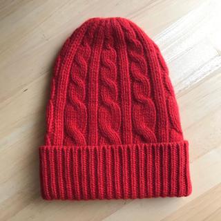 ドゥロワー(Drawer)の新品 BLAMINKのニット帽(ニット帽/ビーニー)