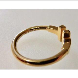 ティファニー(Tiffany & Co.)のTiffany ティファニー Tワイヤーリング(リング(指輪))