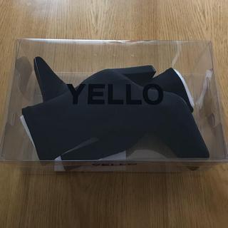 イエローブーツ(Yellow boots)のyello shose イエロー ソックスブーツ 限定品 (ブーツ)