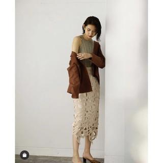 フレイアイディー(FRAY I.D)の新品 FRAY I.D レースタイトスカート(ロングスカート)
