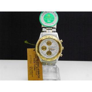 アルバ(ALBA)のA.G SPALDING & BROS. アラームクロノグラフ デッドストック(腕時計(アナログ))