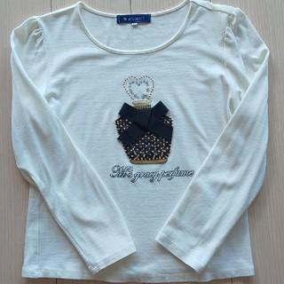 エムズグレイシー(M'S GRACY)のトワレキラキラTシャツ(Tシャツ(長袖/七分))