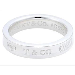 ティファニー(Tiffany & Co.)のTiffany ティファニー ナローリング シルバー 15号 磨き済み(リング(指輪))
