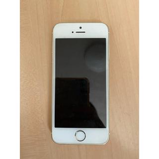 アップル(Apple)のiPhone5S ゴールド(スマートフォン本体)