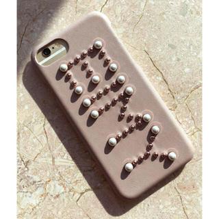 エイミーイストワール(eimy istoire)のRAMPONI スタッズ iphone8ケース(iPhoneケース)