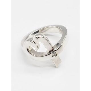 ティファニー(Tiffany & Co.)の317/ティファニー リング ラビングハート 1Pダイヤモンド シルバー(リング(指輪))