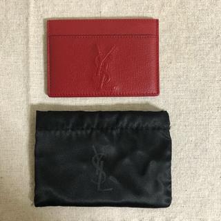 イヴサンローランボーテ(Yves Saint Laurent Beaute)のサンローラン カードケース(名刺入れ/定期入れ)