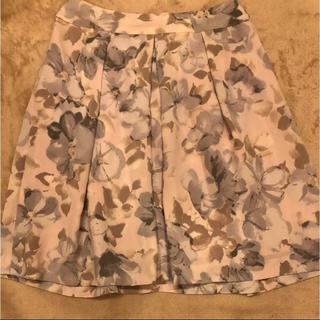 マーキュリーデュオ(MERCURYDUO)の水彩フラワースカート(ミニスカート)