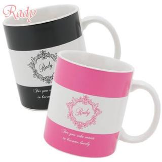 レディー(Rady)のrady バイカラーフレームマグカップ(その他)