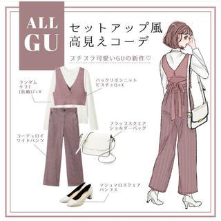 GU - GU バックリボンビスチェQ+X