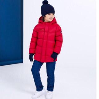プチバトー(PETIT BATEAU)の新品 プチバトー 中綿入りフード付き コート ダウンコート(コート)