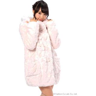 リズリサ(LIZ LISA)の新品 LIZLISA フェイクファーコート(毛皮/ファーコート)